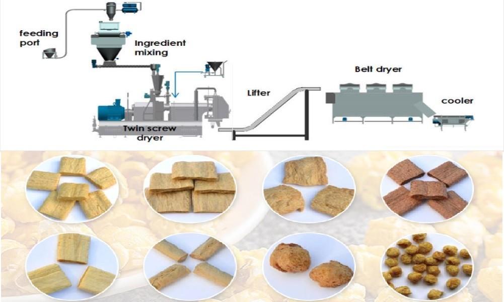soya bari manufacturing process