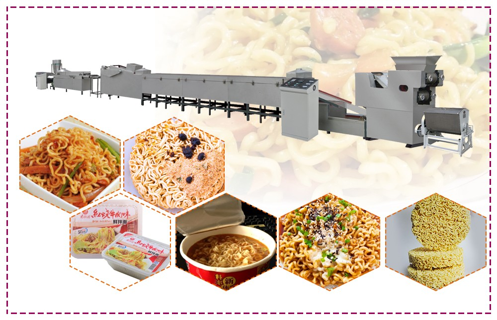 automatic instant noodles making machine