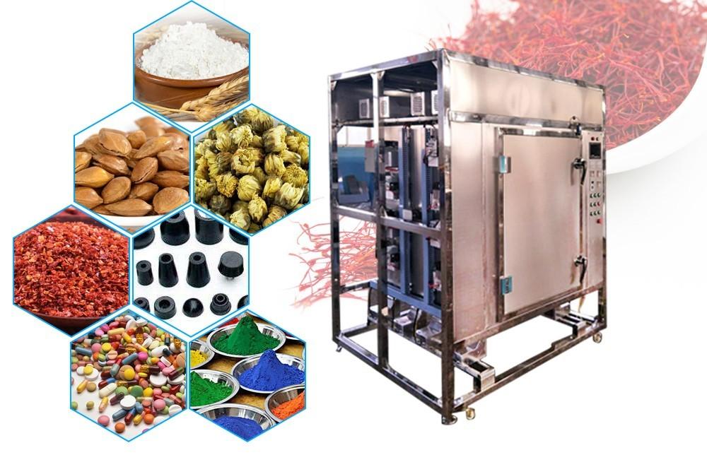 Промышленная микроволновая печь пакетная конструкция