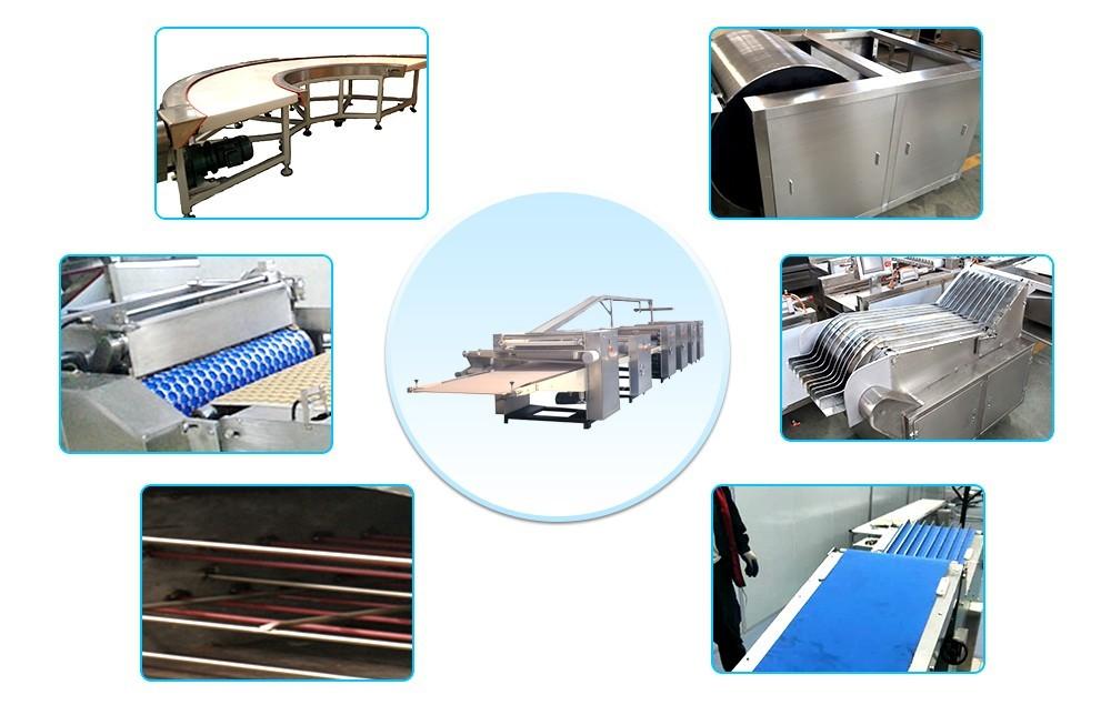 Дизайн автоматической линии по производству бисквитов