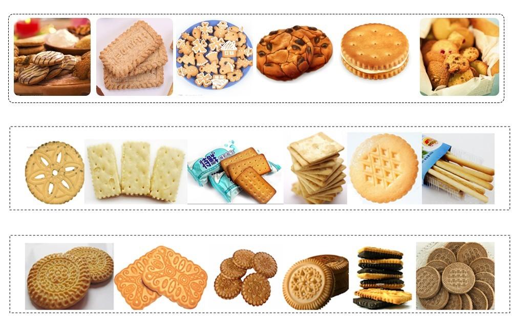 Цена автоматической линии по производству печенья