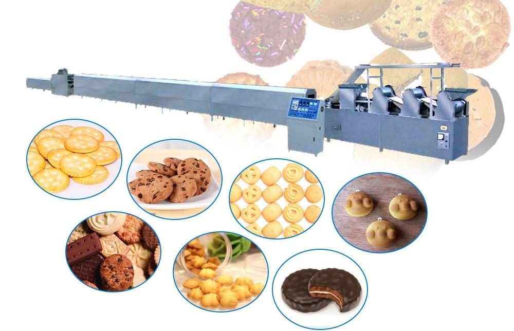 Полностью автоматические машины для производства печенья производитель
