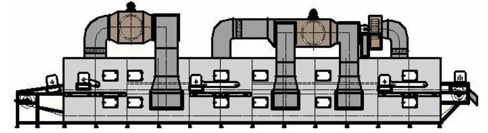 Завод по производству сушилок для гранулированных стружок