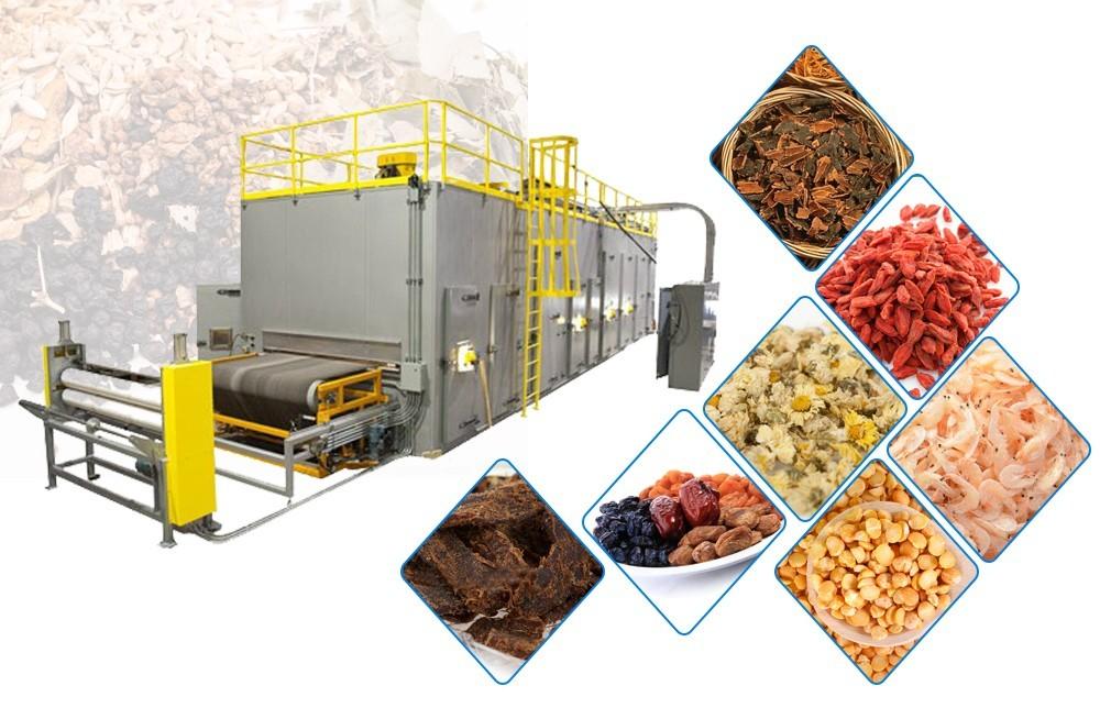 Завод промышленных конвейерных ленточных сушилок