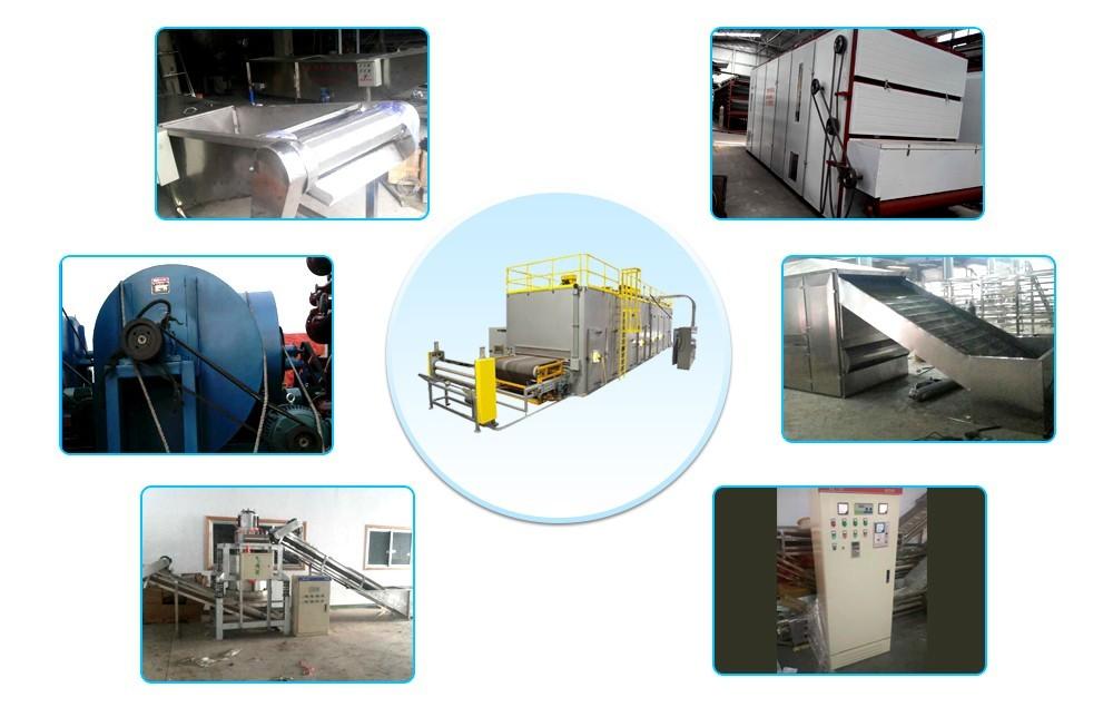 Цена промышленной конвейерной ленточной сушилки