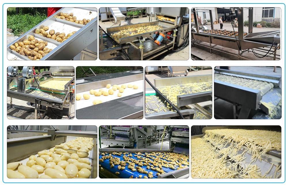 Дизайн технологической линии автоматического производства картофельных чипсов