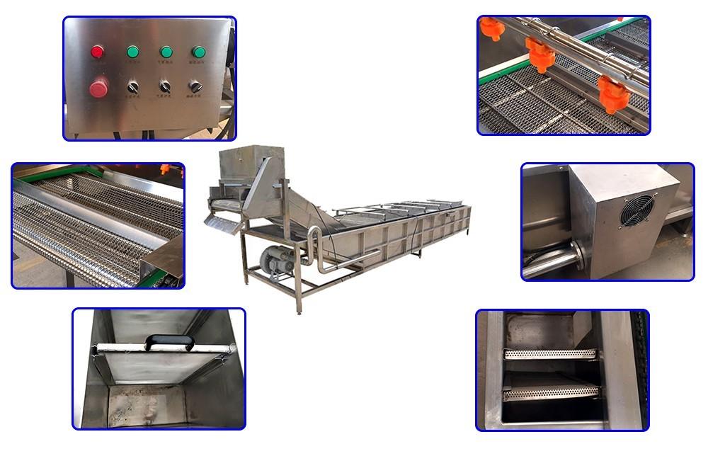 Производство промышленных стиральных машин для фруктов и овощей
