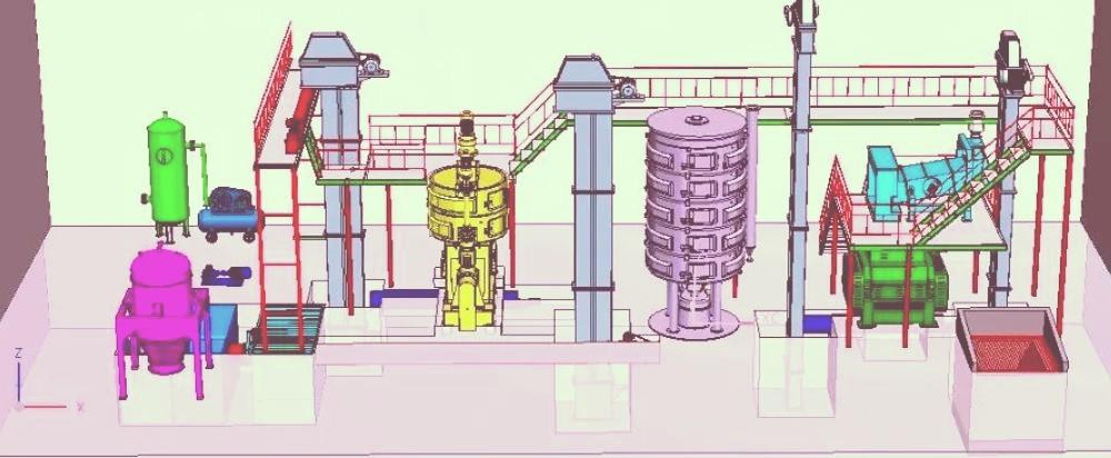 5-800TDay Чертеж машины для нефтеперерабатывающего завода