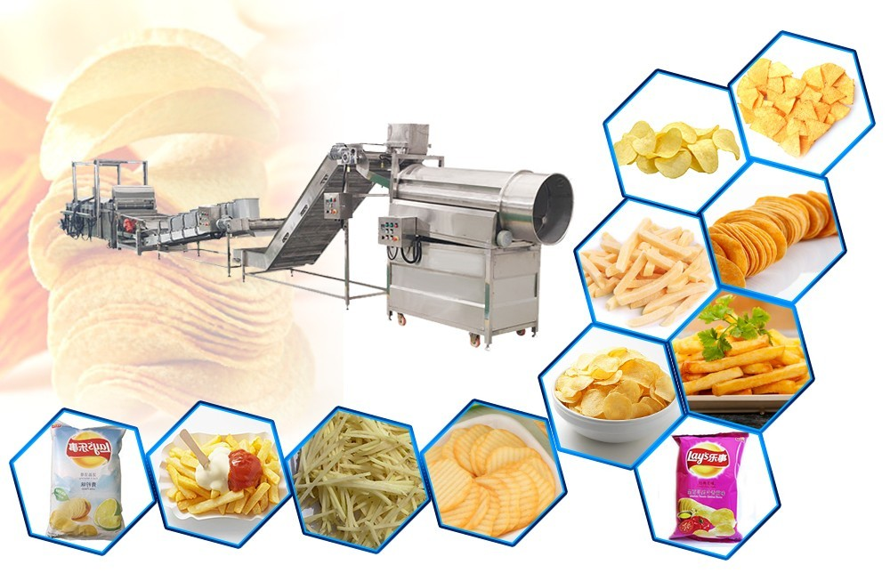 Производитель автоматической линии по производству картофельных чипсов