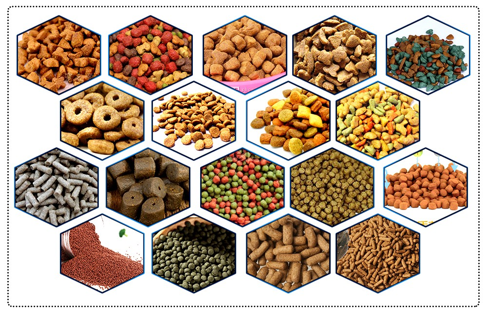 pet feed production process line