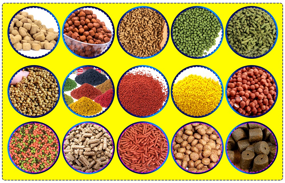 Extruded fish feed processing equipment production line