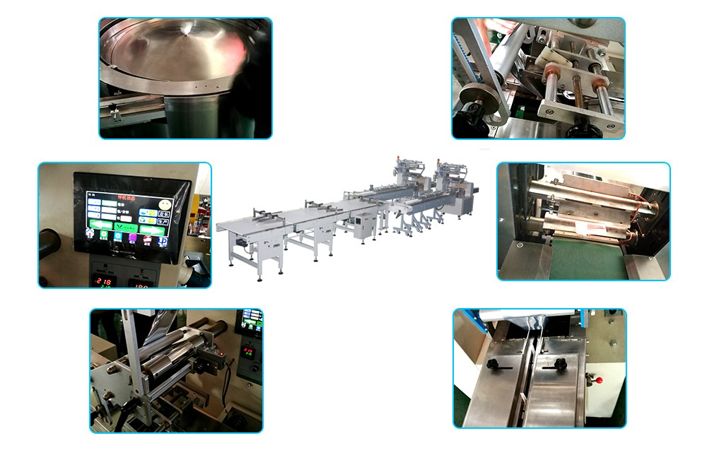 High Speed Pillow Packing Machine manufacturing process