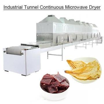 Промышленная туннельная непрерывная микроволновая сушилка