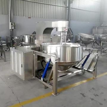 Автоматическая большая машина для изготовления попкорна